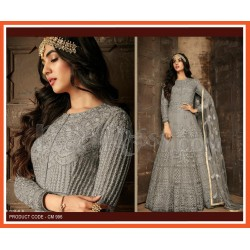 A Heavy Net & With Embroidery work Party Wear
