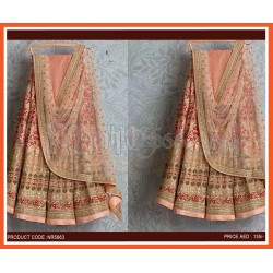 Georgette Lehenga With Embroidery