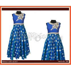 Girls Ethnic Party Wear Gown