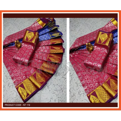 A ELITE BRIDAL FANCY SILK SAREES
