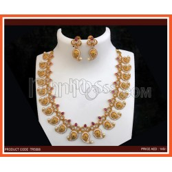 Necklace With Earning