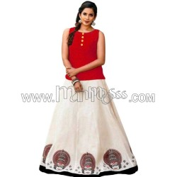 A ONAM SPECIAL SKIRT AND TOP