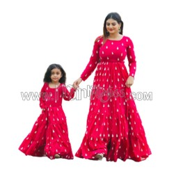A MOM AND  DAUGHTER GOWN