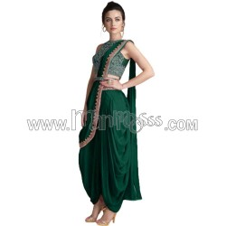 A DHOTI STYLE PARTY WEAR