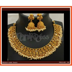 Fancy Necklace With Earning