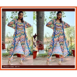 A  SUMMER SPECIAL PRINTED WESTERN OUTFIT