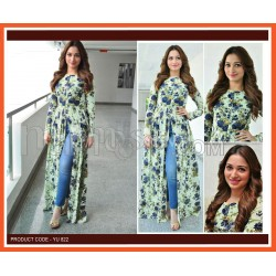 A CASUAL WEAR GEOREGTTE  LONG KURTI