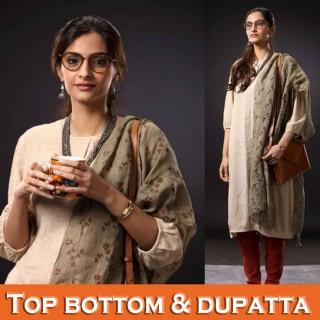 Top Bottom With Dupatta (55)