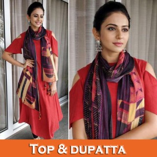 Top With Dupatta (0)