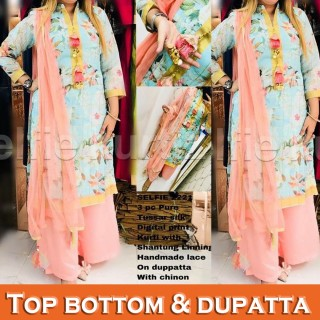 Top Bottom & Dupatta (2)